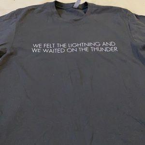 EUC Vintage Bob Seger Night Moves Tour T-shirt